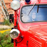 oude brandweerwagen van het brandweerkorps in Beringen : Marc Coenen
