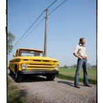 Kurt Wintein met z'n Chevrolet