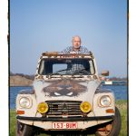 Jacky Scheers met z'n Citroën Dyane