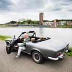 Gert-Jan Van Cauwelaert met z'n Fiat 124 Sport Cabrio