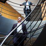 Peter Maenhoudt en Alain Keppens van GIMV