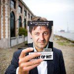 """Jurgen Verstrepen stelt z'n boek """"zwart op wit"""" voor"""