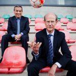 Louis Tobback en Jan Callewaert bij OHLeuven