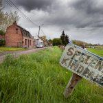 huizen in kleine gehuchten rond Doel worden ook onteigend : Rapenburg
