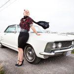 Kelly Irene Tas met haar Riviera