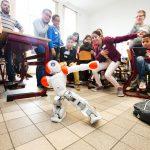 Robots in de klas in basisschool Baronneke in Deurne