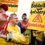 Duitse Opelwerknemers zijn solidair met Opel Antwerpen