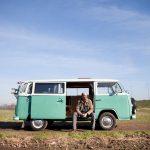 Jan Vandenhende met z'n VW Camper