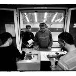 stilstaande economie : Havenarbeiders